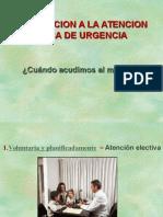 1. Introducción a La Atención Médica de Urgencia