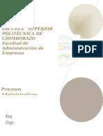 Libro de Los Procesos Administrativos 1