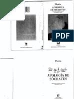Platon - La apologia de Socrates