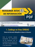 Busqueda Basica Informacion