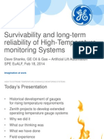 18. Survivability and Long Term Reliability of High Temperature Monitoring Systems GE Oil Gas
