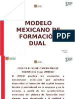 Modelo Mexicano de Formación Dual SEP CONALEP