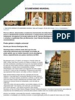 Uma Nova Ordem e Ecumenismo Mundial