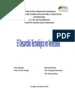 DESARROLLO TECNOLOGICO