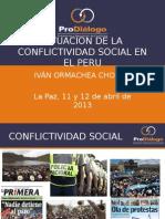 ConflictiVidaD en El Peru