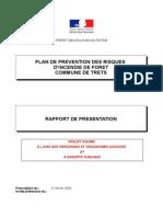 Rapport Presentation du PPRIF Trets 2015