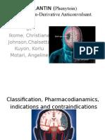 dilantin group presentation, pharm