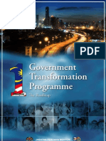 Gorvernment Malaysia Transformation Program Roadmap 2010-2012