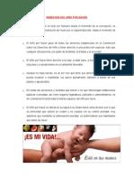 Derechos Del Niño Por Nacer