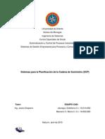 Unidad IV - Tema 6 Sistemas Para La Planificación de La Cadena de Suministro (SCP) - CAD