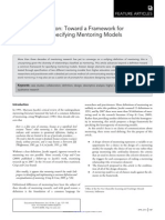 Beyong a Definition Mentoring Models