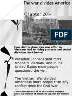 chapter 20 - section 3 - war divides america