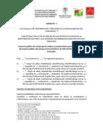ANEXO 5 - Formato Para Conformar Un Consorcio