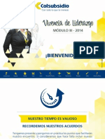 Presentacion Modulo III-Vivencia de Liderazgo