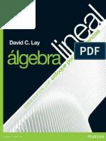 Álgebra Lineal Para Cursos Con Enfoques Por Competencias. David c. Lay