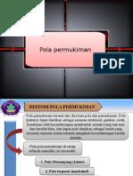 Powerpoint Pola Permukiman