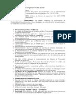 Régimen Jurídico de La Organización Del Estado