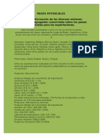 PAISES POTENCIALES.doc