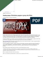 """Santayanna_ Petrobras Pagou o Preço Da Price _ TIJOLAÇO _ """"a Política, Sem Polêmica, é a Arma Das Elites."""""""