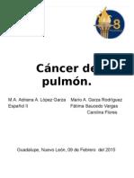 Cáncer de Pulmón monografia