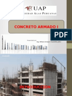 1.0 INTRODUCCION- CONCRETO ARMADO I