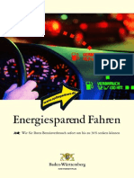 Energiesparend Fahren 2008