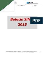 Boletín SINDI Enero-Febrero 2015