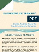 Exposicion Elementos de Transito