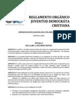 Reglamento Organico Jdc