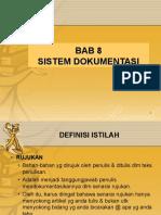 Bab 8 Sistem Dokumentasi