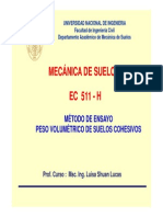 Lab 1 Peso Volumetrico