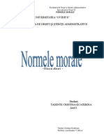 Normele Morale Etica in Afaceri Refereat