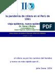 La Pandemia de Cólera en El Perú