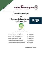 MANUAL ClearOS Enterprise.