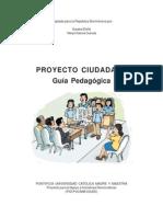 Proyecto Ciudadano - Guia Pedagogica