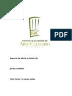 Reporte de Visita Al Salinerito