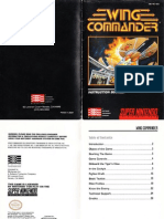 Wing Commander - Manual - SNS