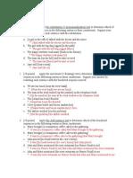 Linguistics Homework Key