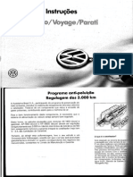 Manual de Instru Es 93 Gol Saveiro Voyage Parati