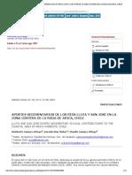 Idesia (Arica) - APORTES SEDIMENTARIOS DE LOS RÍOS LLUTA Y SAN JOSÉ EN LA ZONA COSTERA DE LA RADA DE ARICA, CHILE