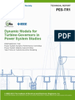 Pes_tr1 - Turbine-governor Modeling