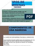 Tipos de Barrenas