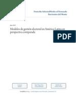 Modelos de gestión electoral en América Latina en perspectiva comparada