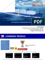 Worls First CNG Ship in Indonesia Presentation by Bima PS