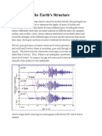 Types of Seismic Waves and the Earth