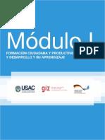 MODULO I Formación Ciudadana y PD