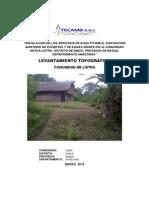 1. Informe Topografico Listra