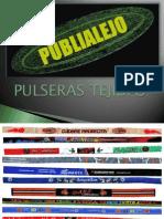 PULSERAS TEJIDAS, publialejo