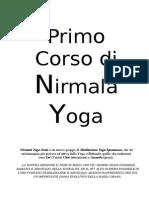 Primo Corso di Nirmala Yoga 1 - 2 - 3.doc
