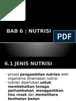 Bab 6 Nutrisi F4